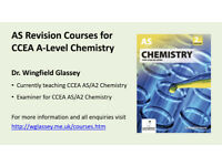 AS Revision Courses for CCEA A-Level Chemistry