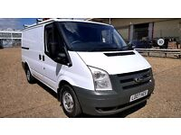 Finance - £100P/ M-Ford Transit Low Roof Van 2.2 300 -1 Owner- XBt - FSH - 1YR MOT- Warranty 260 280