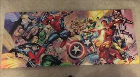 Large Marvel Canvas Print