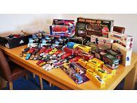 150+ Dinky, Corgi, Matchbox, Lledo, Maisto - Joblot Diecast Model Cars