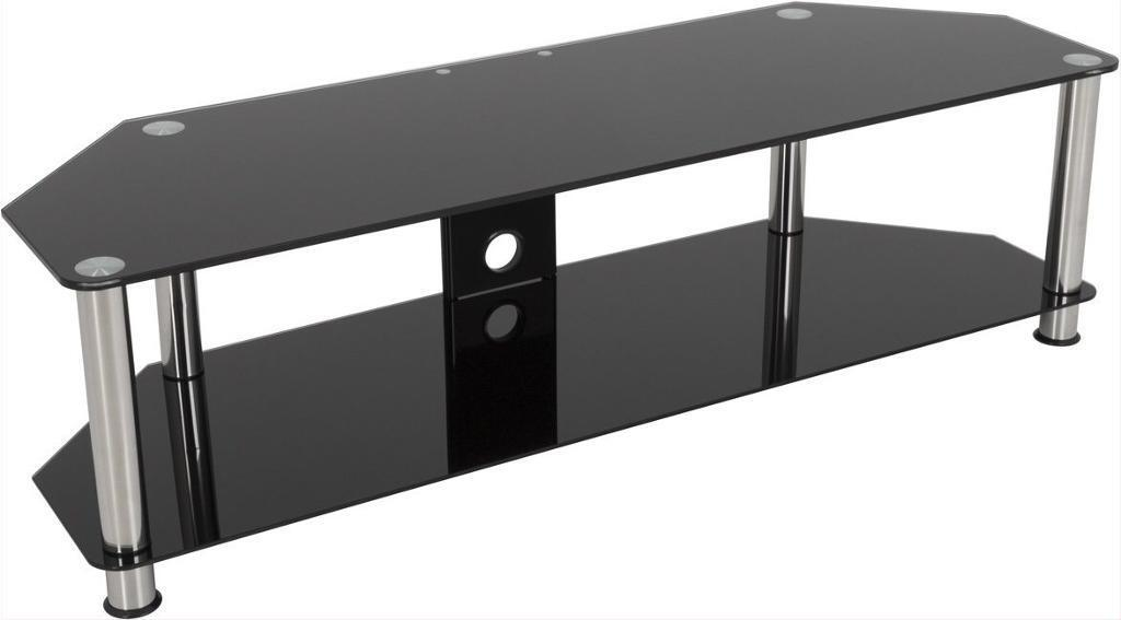 Black Glass Side Table Gumtree: Tv Stand And Matching Coffee Table Black Glass
