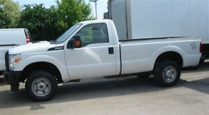 2015 Ford F-250 reg cab 4x4 gas XL loaded X 2