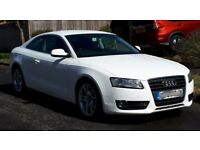 Audi A5 2.0 TDI Sports Coupe WHITE