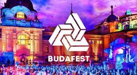 Budafest ticket + VIP + more