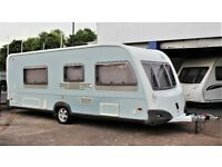 2008 KNAUS STARCLASS 590 GB 4 BERTH, TWIN FIXED BED END WASHROOM, MOTOR MOVER, SOLAR PANEL SERVICED