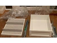 NEW IKEA PAX KOMPLEMENT BUNDLE DRAWER, RAIL & PULLOUT TRAY!
