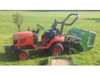 Kubota Tractor BX2530 with Ryetec 1000c Flail Mower