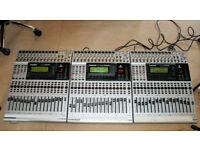 Lot of 3 Behringer DDX 3216 Digital Mixing Consoles @ BARGAIN £275@ Please read description.