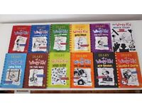 Diary Of A Wimpy Kid Full Collection Set Books 1-11 Jeff Kinney Plus Movie Diary