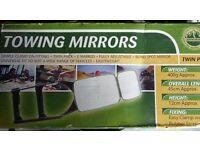 Pair Towing Mirrors, New & unused