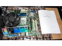 ATX Motherboard CPU RAM Bundle as pictured (Bath Ba2)