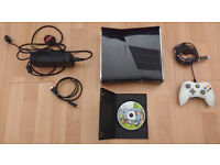 Xbox 360 Slim (120 GB Hard drive, controller and one game)