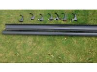 Plastic guttering and accessories
