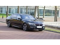 2017 BMW 7 SERIES LONG WHEEL BASE LONDON PCO HIRE VEHICLE 740LD XDRIVE UBER LUX - LOADS OF EXTRAS