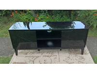 Ex-display Black High Gloss TV Cabinet