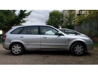 Mazda 323 1.6 GXi 5dr (a/c). Drives well, expired MOT