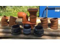 P-Trap and 110mm Underground Drainage Connectors