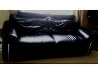 Imperial leather suite for sale