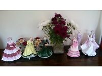 """Coalport Figurines """"Ladies of Fashion"""" x 7 sold seperately or a combination"""