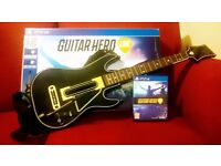 PS4 Guitar Hero Live Game and Controller with Box