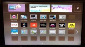55 inch Panasonic viera HD 3D Smart TV