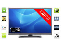"""New MEDION 22"""" LED TV with Built-in DVD Player - Full HD"""