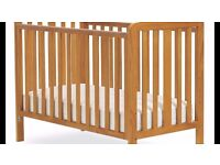 Baby Cot with matress - Like New