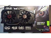 Asus Strix Nvidia Geforce 4GB 970 GTX