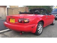 Mazda MX5 Eunos Roadster 1.6 Manual Sports Convertible Rust free vw polo drift