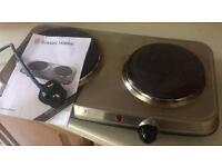 Russell Hobbs electric table top hob cooker