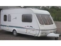 SWIFT 5 BERTH WITH DOUBLE END BEDS AWNINING
