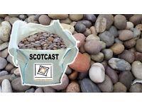 30-50mm Scottish Cobbles Jumbo Sack