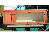 4 ft Rabbit Hutch for sale