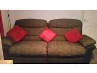 4 seater and 2 seater recliner sofas (EXCELLENT CONDITION)