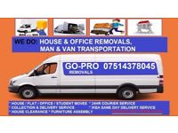 Go-Pro Removals, Based in Dagenham, Home moving, Office relocations,Man & Van,IKEA Delivery,Courier