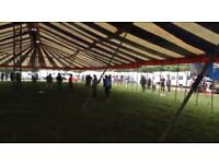 Large marquee for sale 20m by 40m