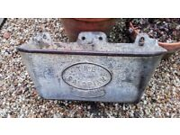 Vintage Cast Iron drinker/planter