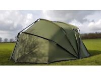 Large 2 man Maxus Bivvy with free overwrap and delivery brand new just