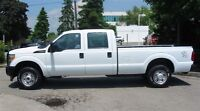 2012 Ford F-250 crew cab 4x4 gas long box X4