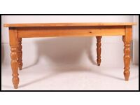 large Solid pine farmhouse / country kitchen table