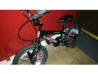 Girls BMX BOOGIE FOR AGE 4 TO 6 YEARS