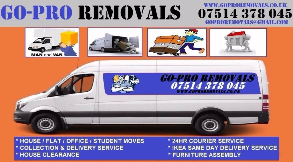 Go-Pro Removals, Based nr Charlton, Home moving, Office relocations,Man & Van,IKEA Delivery,Courier
