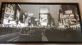 Times Square Picture (framed)