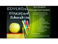 anu Student management system . by founder infotech private limited
