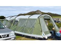Outwell Montana 6, Front Awning, Footprint and Carpet