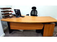Large Modern Office Furniture table and chair