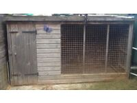 Large dog run pen, indoor and outdoor secure area for dogs or puppies