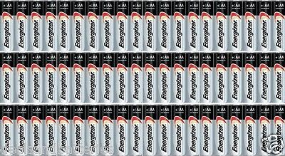 60 pack Energizer AA Max Alkaline E91 Batteries Made in USA EXP 2027