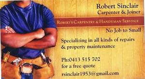 Roberts Carpentry and Handyman Service Northcote Darebin Area Preview