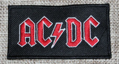 AC/DC woven PATCH